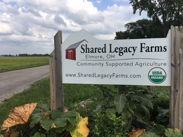 Shared Legacy Farm Sign