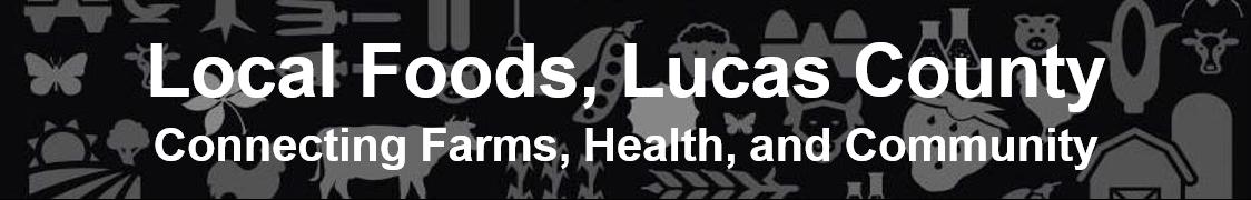 Local Foods, Lucas County Logo